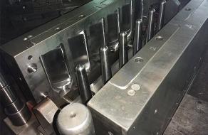 单工位注吹塑料瓶生产
